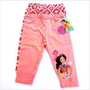 Disney Elena Avator Girls 2 Pack Leggings Size 4T